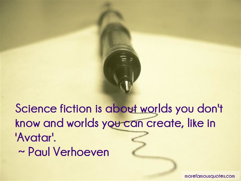 Paul Verhoeven Quotes Pictures 4