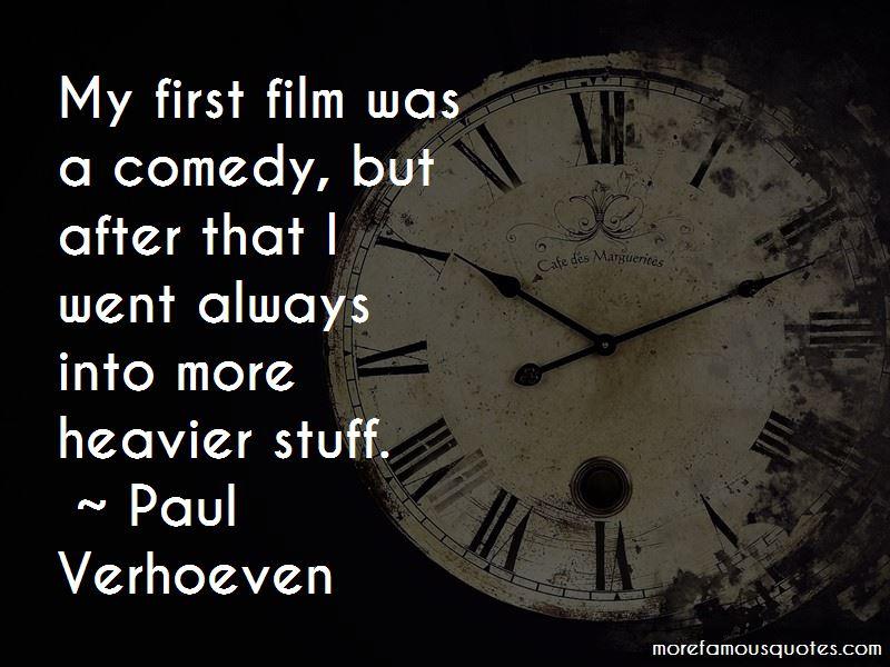 Paul Verhoeven Quotes