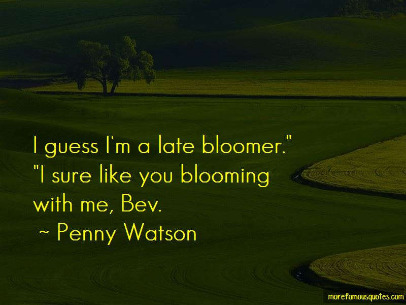 Penny Watson Quotes Pictures 2