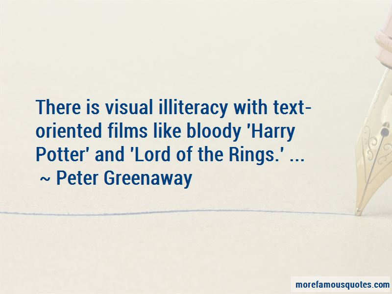 Peter Greenaway Quotes Pictures 3