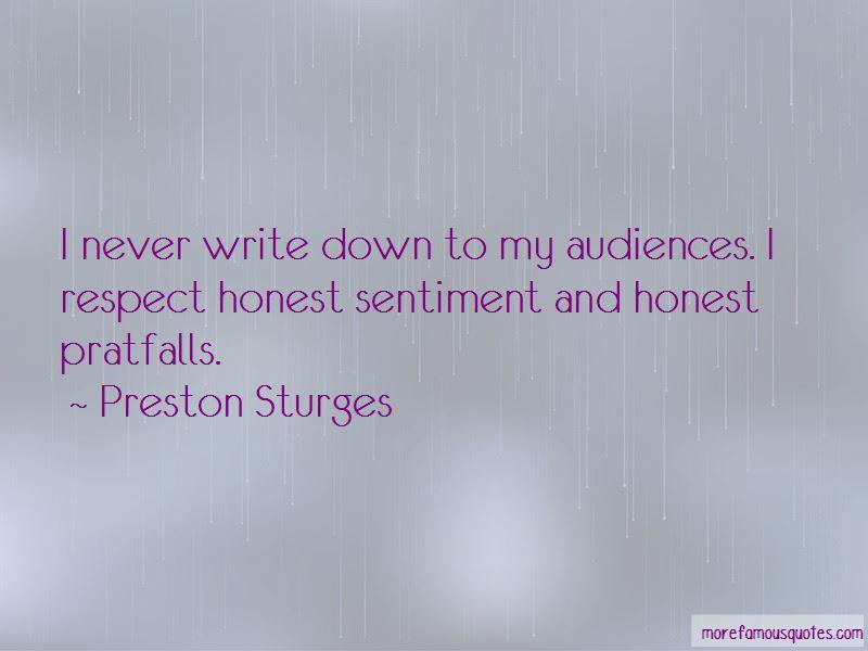 Preston Sturges Quotes Pictures 3