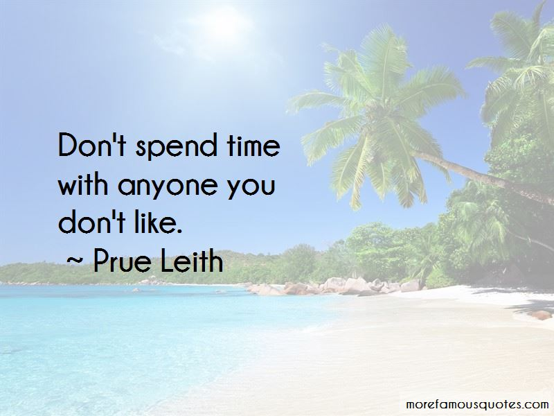 Prue Leith Quotes
