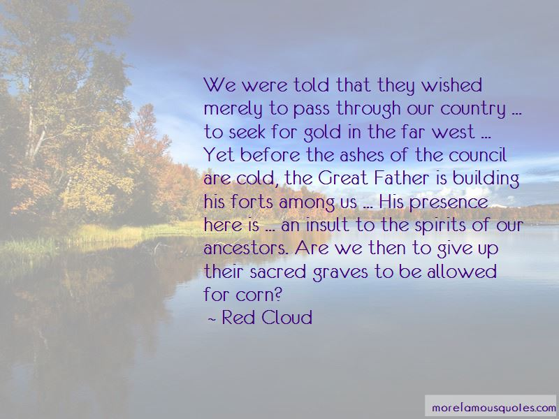 Red Cloud Quotes Pictures 2