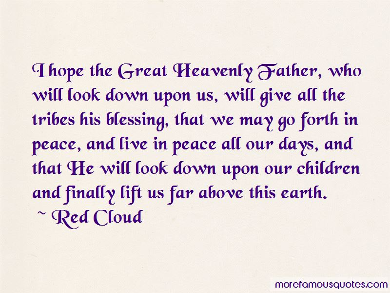 Red Cloud Quotes Pictures 4