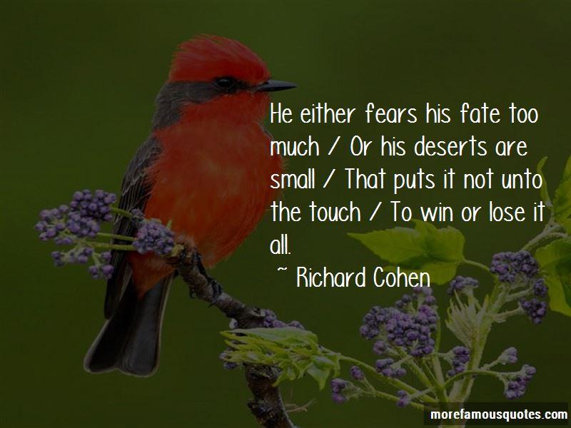 Richard Cohen Quotes
