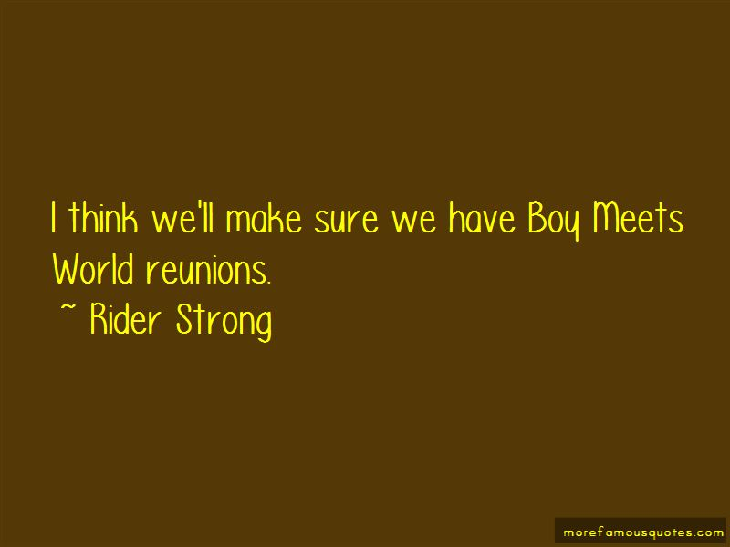 Rider Strong Quotes Pictures 4