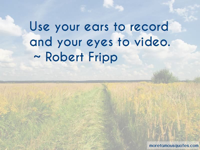 Robert Fripp Quotes Pictures 2
