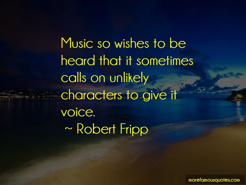 Robert Fripp Quotes Pictures 3