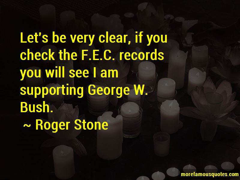 Roger Stone Quotes Pictures 4