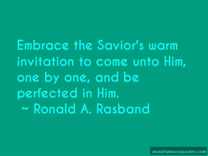 Ronald A. Rasband Quotes Pictures 2