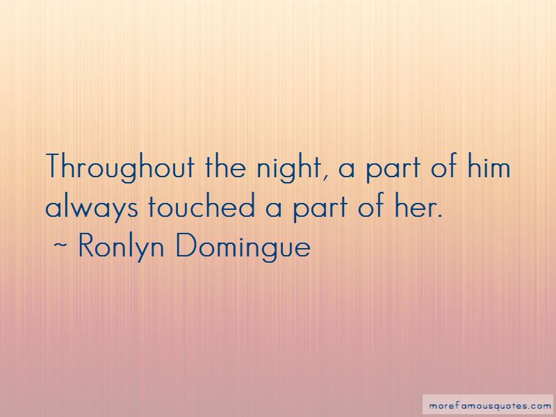 Ronlyn Domingue Quotes Pictures 3
