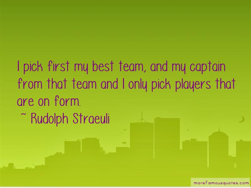 Rudolph Straeuli Quotes Pictures 2