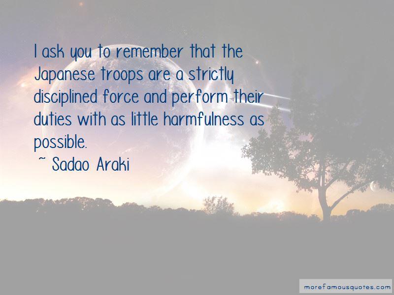 Sadao Araki Quotes Pictures 4