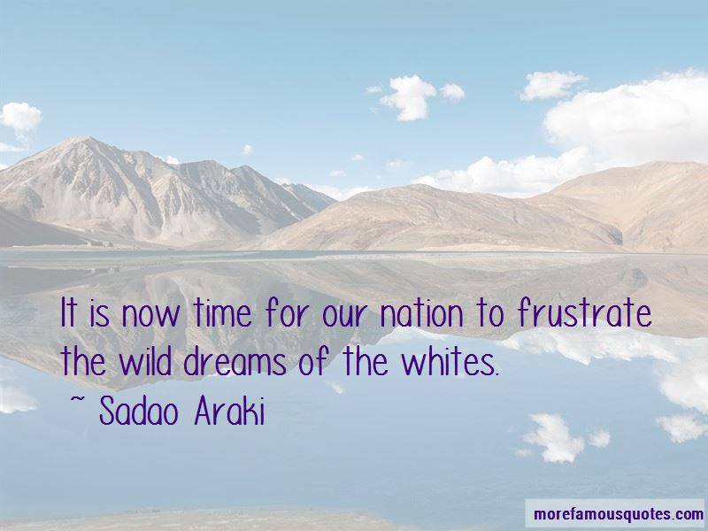 Sadao Araki Quotes