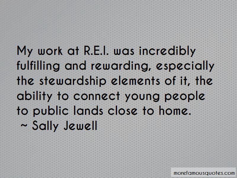 Sally Jewell Quotes Pictures 4