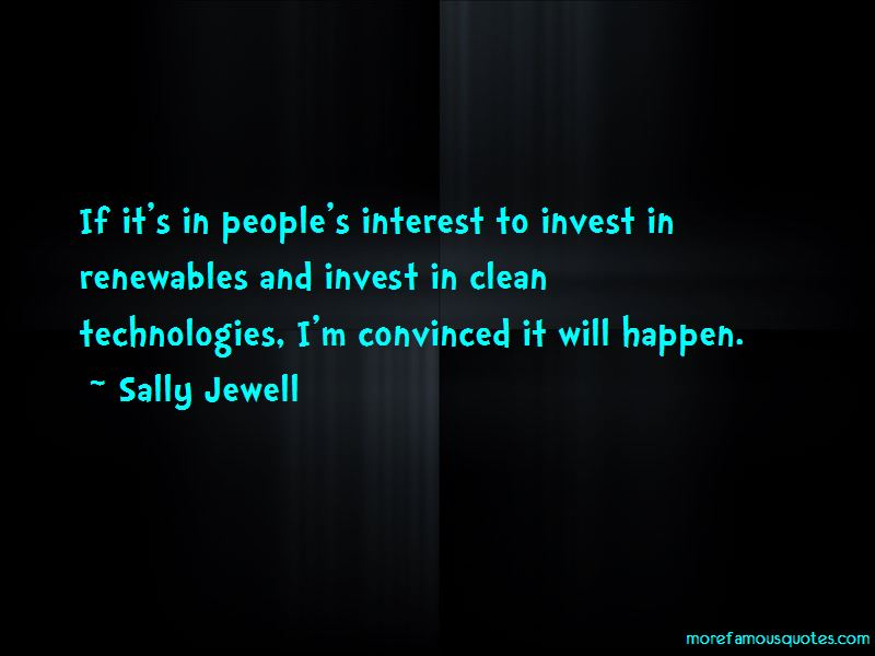 Sally Jewell Quotes