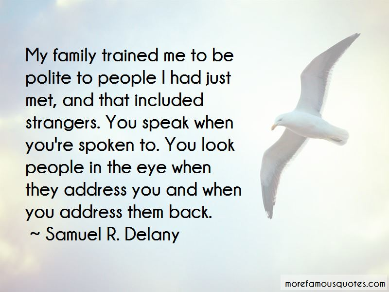 Samuel R. Delany Quotes