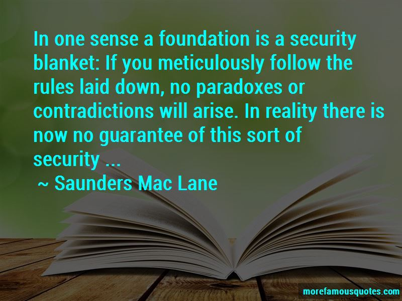 Saunders Mac Lane Quotes Pictures 2