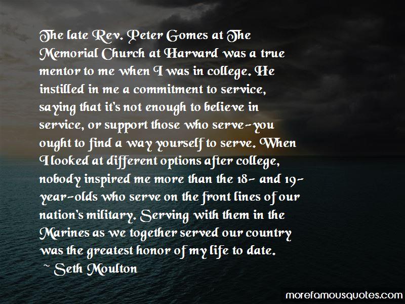 Seth Moulton Quotes