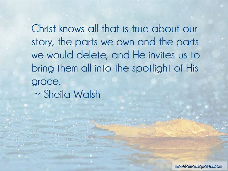 Sheila Walsh Quotes Pictures 2