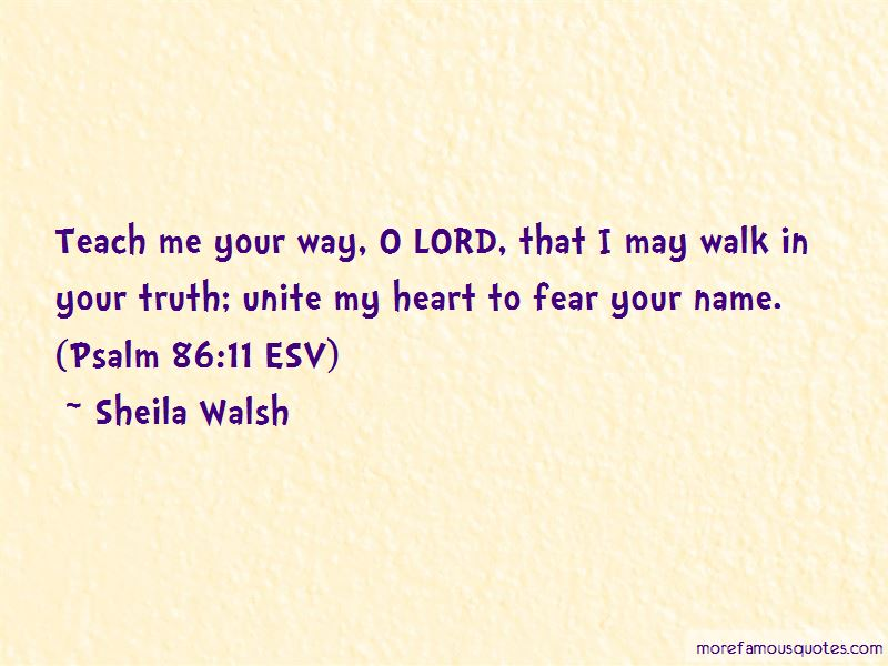 Sheila Walsh Quotes