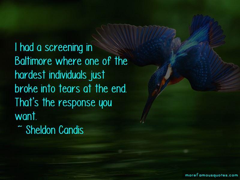 Sheldon Candis Quotes