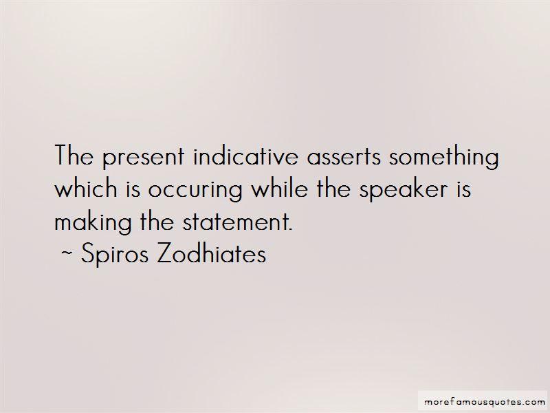 Spiros Zodhiates Quotes