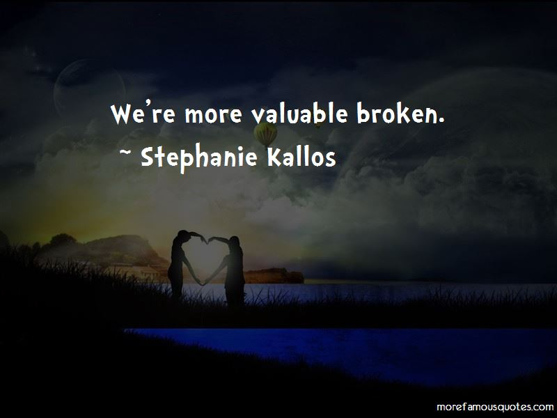 Stephanie Kallos Quotes Pictures 2