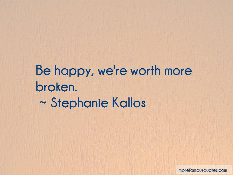 Stephanie Kallos Quotes Pictures 3