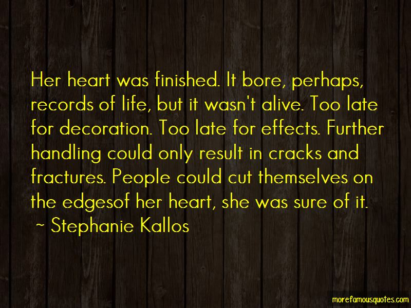Stephanie Kallos Quotes Pictures 4