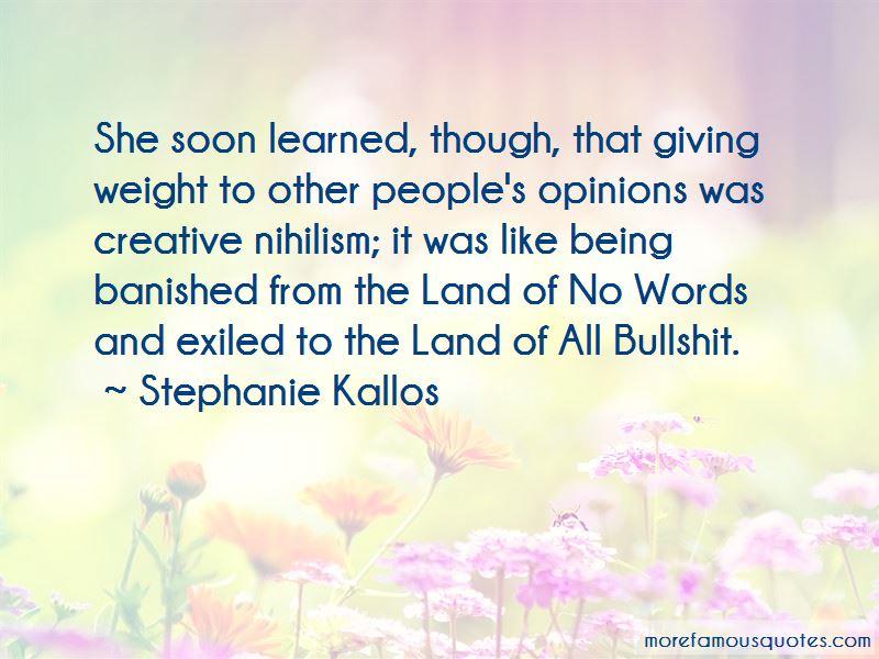 Stephanie Kallos Quotes