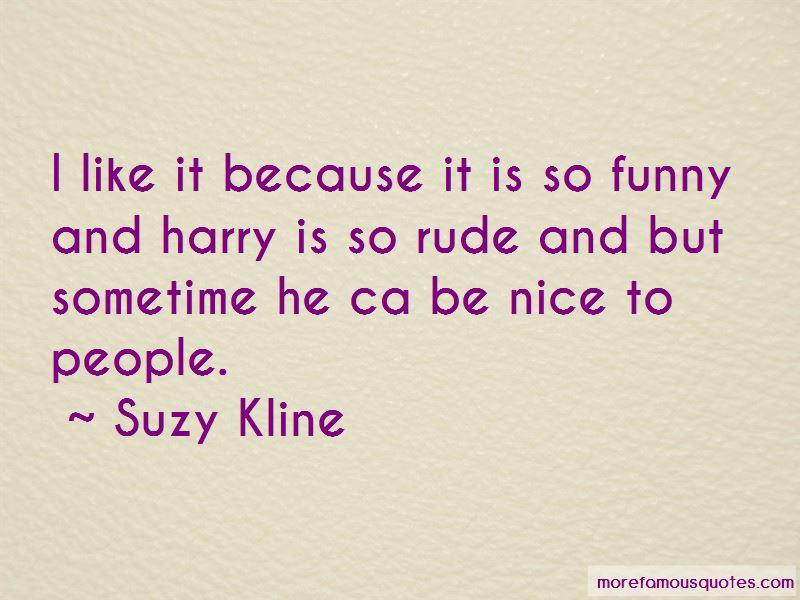 Suzy Kline Quotes Pictures 2
