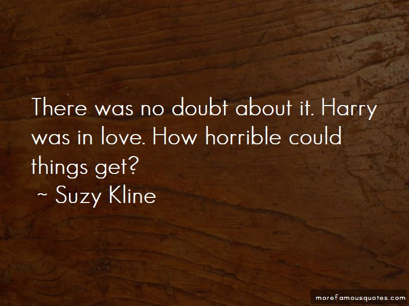 Suzy Kline Quotes Pictures 3