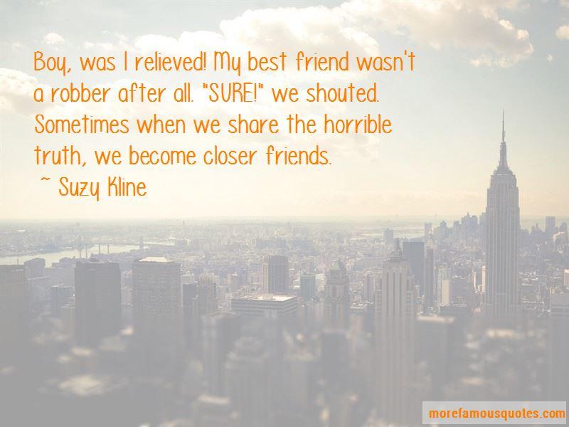 Suzy Kline Quotes