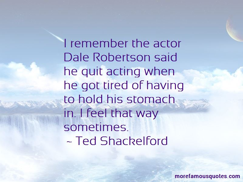 Ted Shackelford Quotes Pictures 2