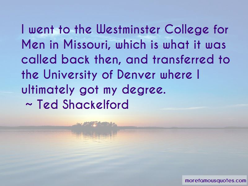 Ted Shackelford Quotes Pictures 3