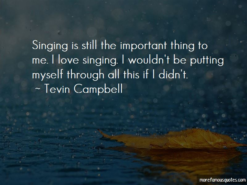 Tevin Campbell Quotes Pictures 2