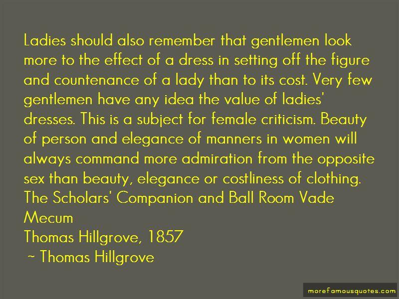 Thomas Hillgrove Quotes