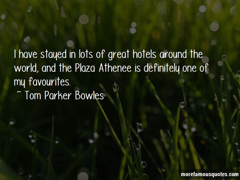 Tom Parker Bowles Quotes Pictures 2