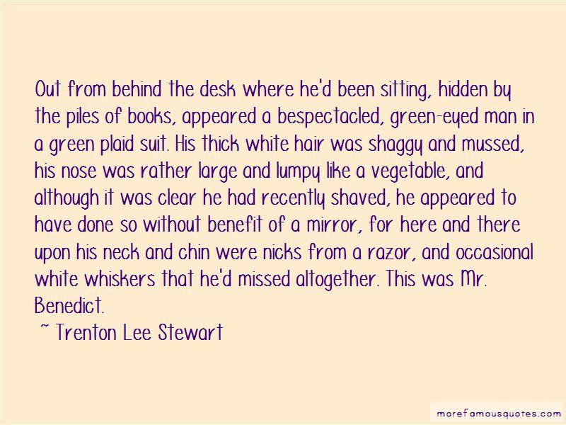Trenton Lee Stewart Quotes