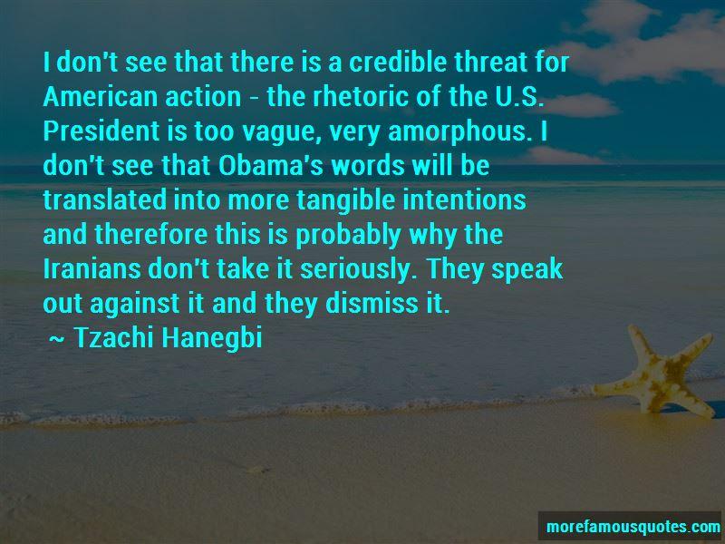 Tzachi Hanegbi Quotes