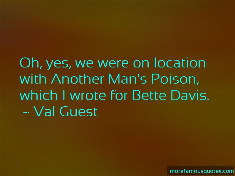 Val Guest Quotes Pictures 4