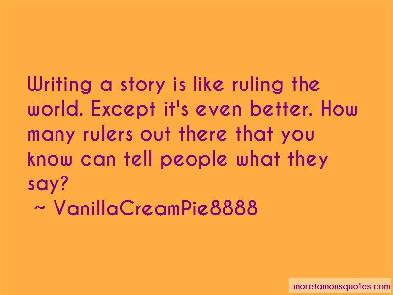 VanillaCreamPie8888 Quotes