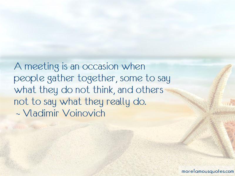 Vladimir Voinovich Quotes