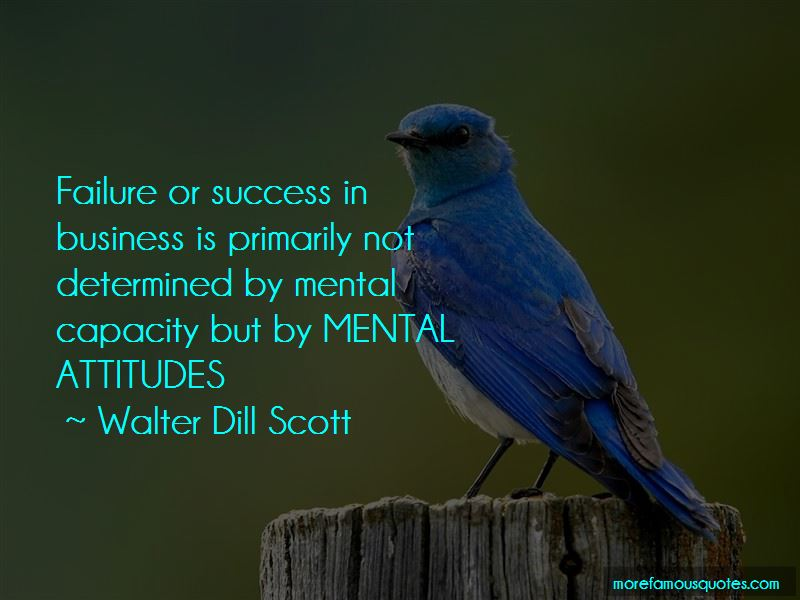 Walter Dill Scott Quotes Pictures 3