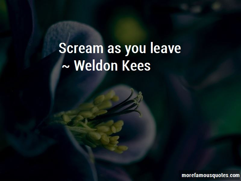 Weldon Kees Quotes Pictures 4