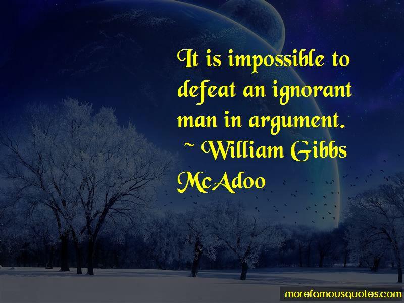 William Gibbs McAdoo Quotes