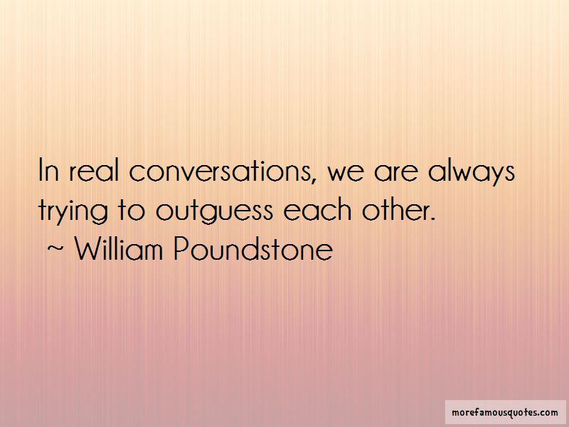William Poundstone Quotes Pictures 4