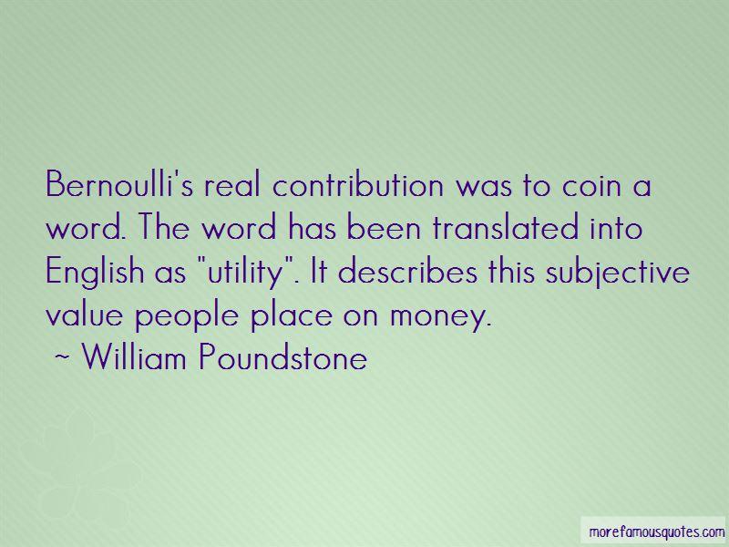William Poundstone Quotes