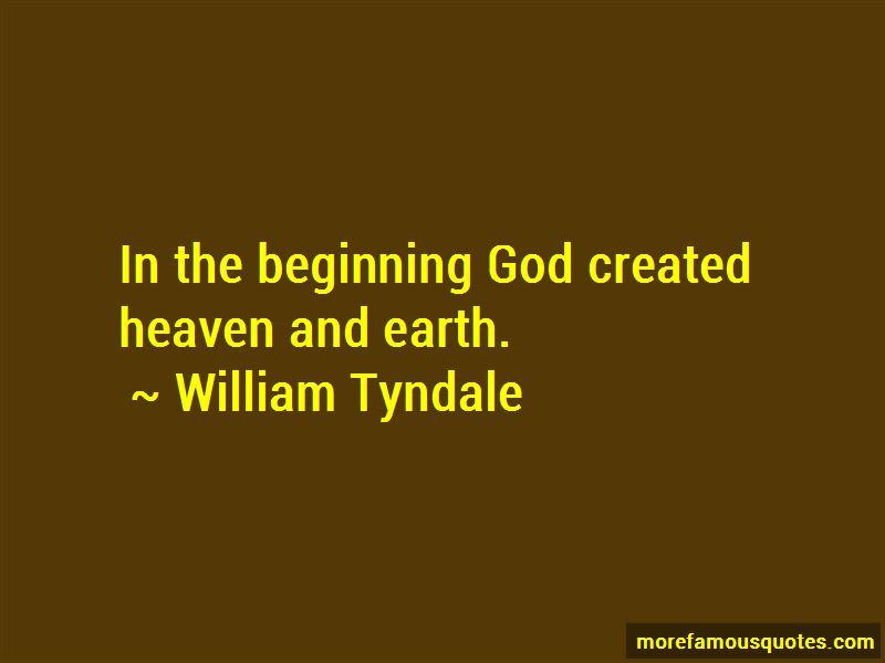 William Tyndale Quotes
